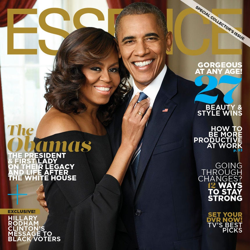 President and Michelle Obama's Legacy Lives on in October Issue of ESSENCE